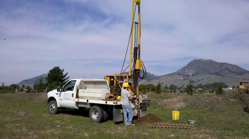 Boring Building Material : Mid coast geotechnical inc home